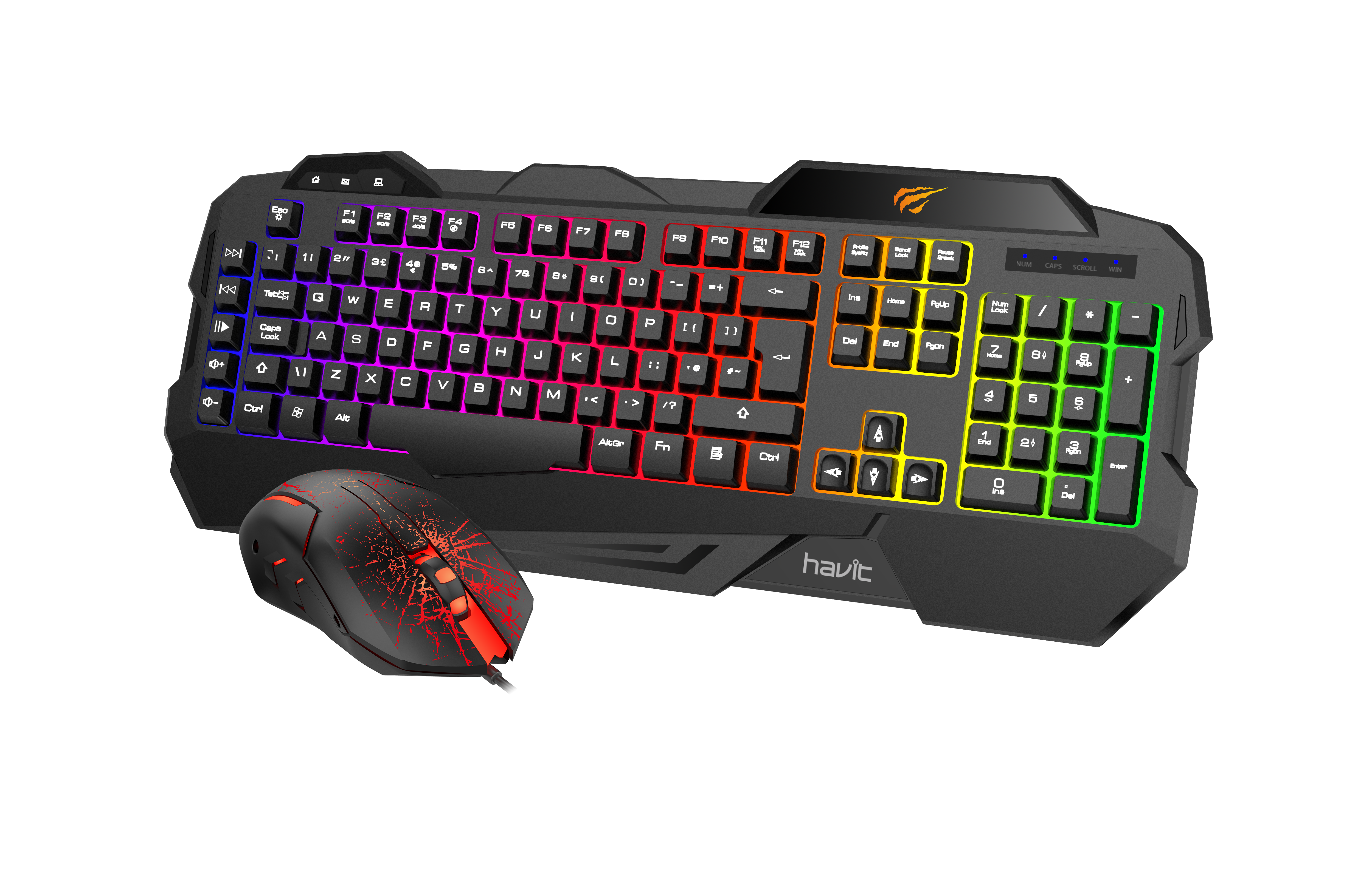Havit gaming bundle kb558cm